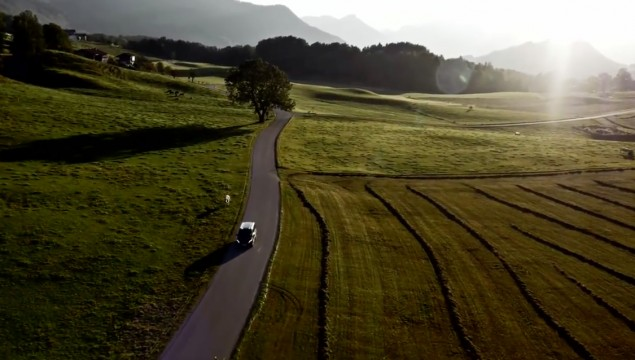 bavaria countryside mountain biking david feckler mercedes-benz vito