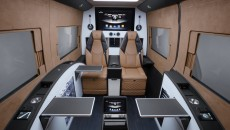BRABUS Business Lounge based on the Mercedes Sprinter
