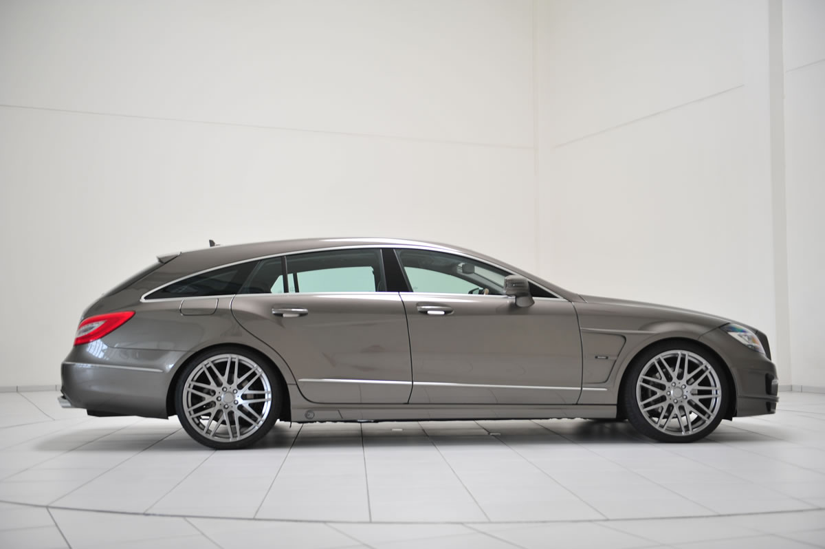 Brabus Unveils Their Mercedes CLS Shooting Brake Photo Gallery