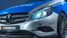 Tune it! Safe! Brabus Mercedes A-Class at Essen Motor Show headlights
