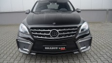 Brabus 2012 Mercedes ML63 AMG grille