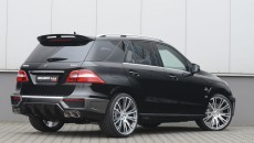 Brabus 2012 Mercedes ML63 AMG rear exterior