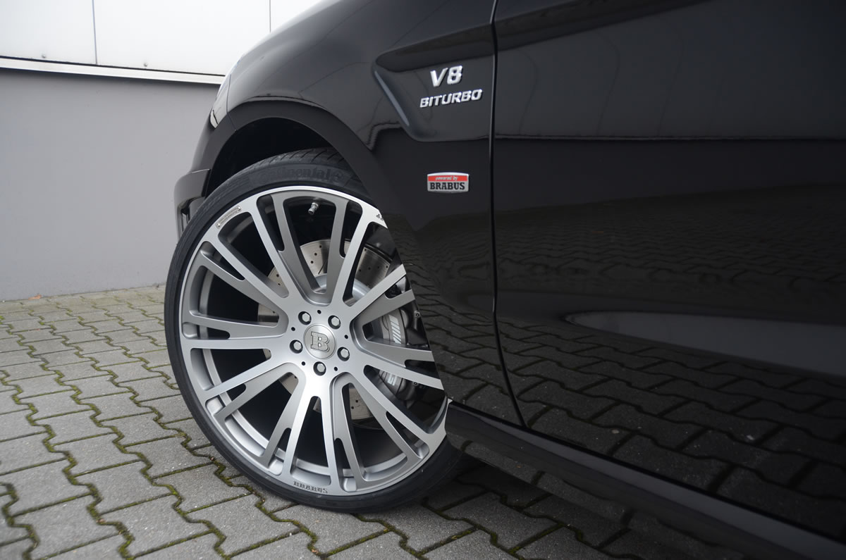 Brabus 2012 Mercedes ML63 AMG exterior wheel