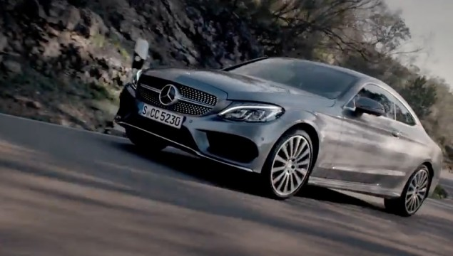 The New C-Class Coupé On a perfect mile