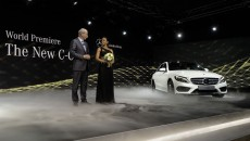 New Mercedes-Benz C-Class debuts in Detroit
