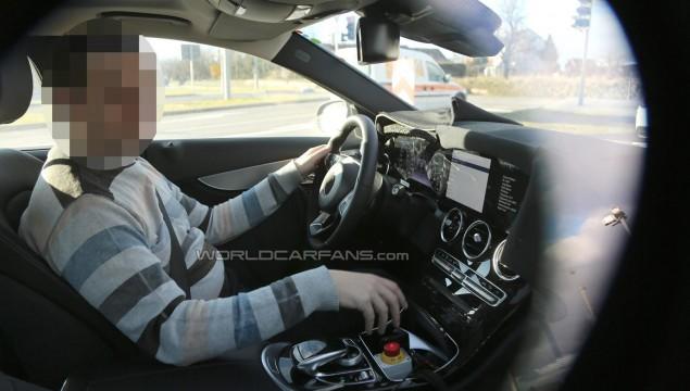 Mercedes-Benz C-Class with S-Class digital dashboard