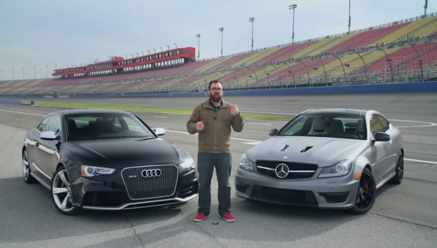 Who Will Win – 2014 Audi RS5 vs 2014 Mercedes-Benz C63 507 Coupe
