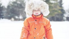 Canada Goose Grizzly Snowsuit Orange hood