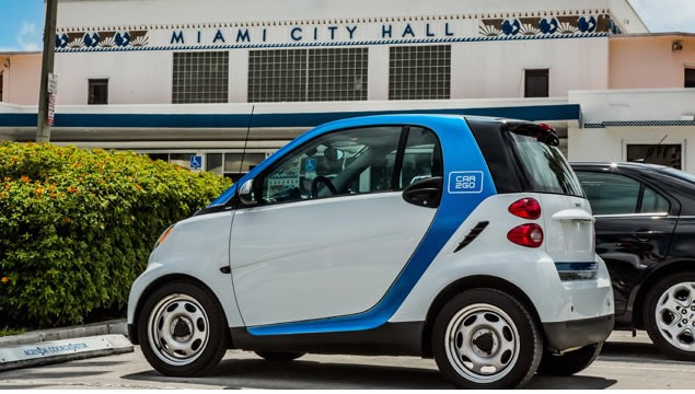 car2go Launches Car Sharing In Miami