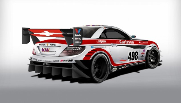 Carlsson Mercedes-Benz SLK Racer Revealed