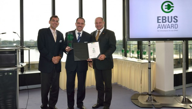 EBUS Award Given to the Citaro FuelCELL Hybrid Bus