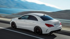 2014 Mercedes CLA45 AMG Official Images
