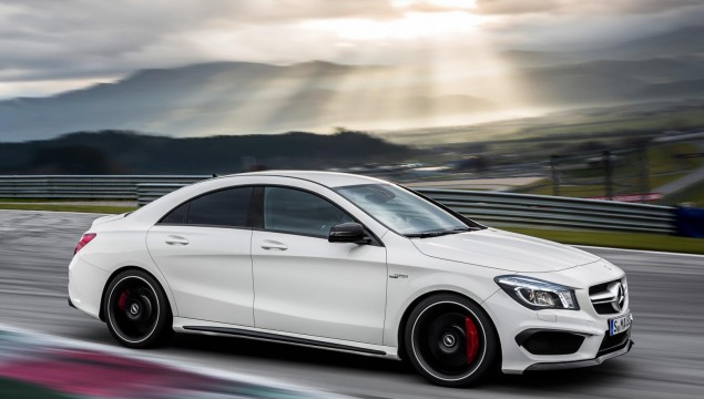 Mercedes-Benz CLA and CLA45 AMG First Drive