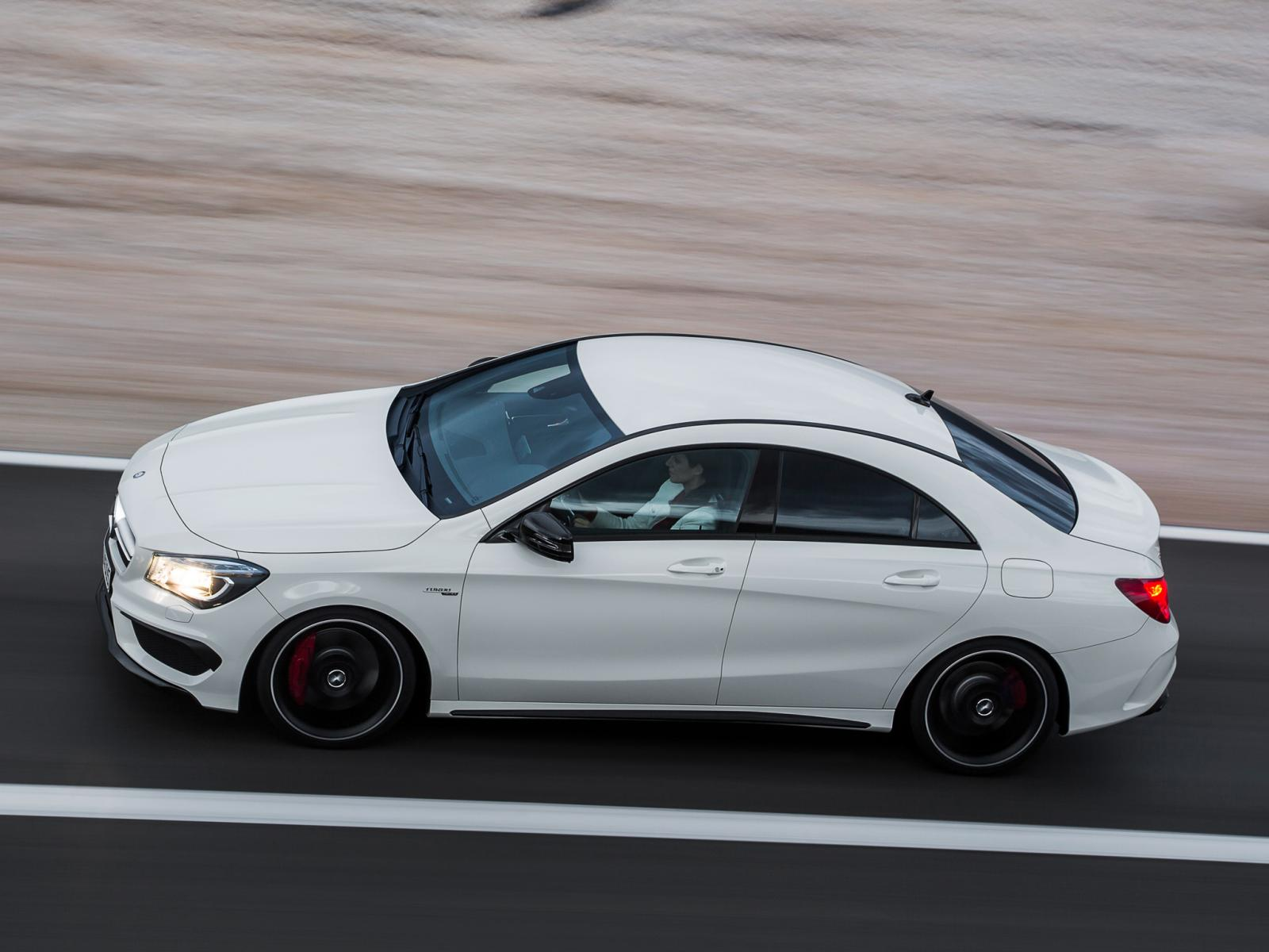 2014 Mercedes CLA45 AMG Official Images 10