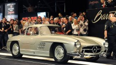 1955 Mercedes-Benz 300 SL Gullwing auction