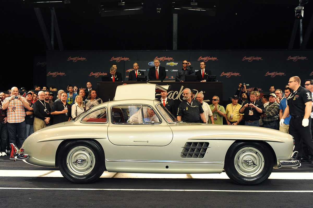 1955 Mercedes-Benz 300 SL Gullwing Clark Gable Auction