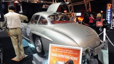 1955 Mercedes-Benz 300 SL Gullwing trunk