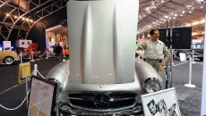 1955 Mercedes-Benz 300 SL Gullwing hood clark gable