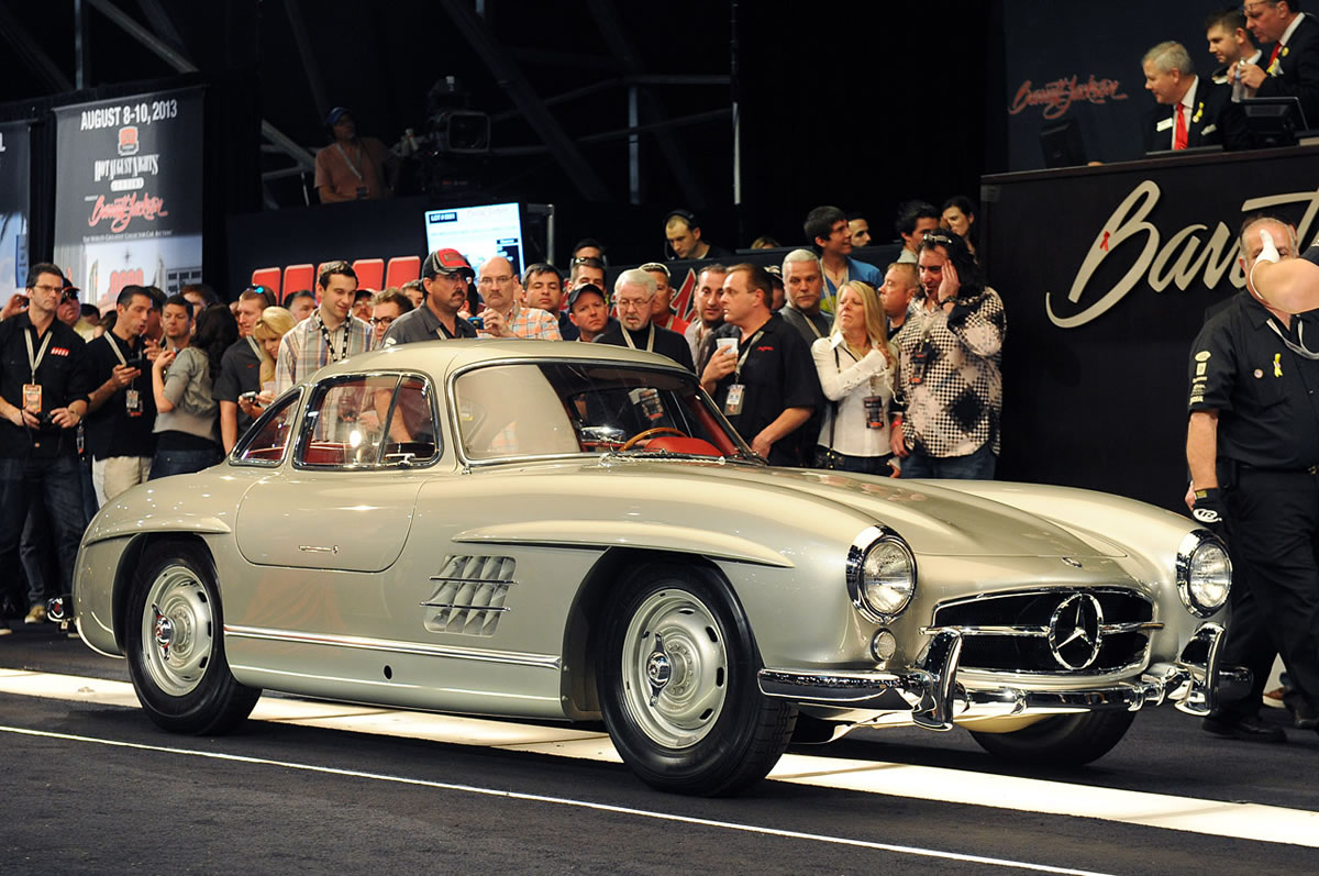 1955 Mercedes-Benz 300 SL Gullwing 11