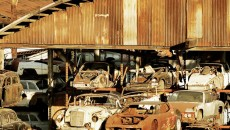 Classic cars at Porche Foreign Auto