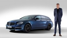 Mercedes CLS63 AMG Shooting Brake with Nick Hart