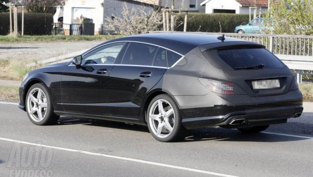 2013 Mercedes-Benz CLS rear