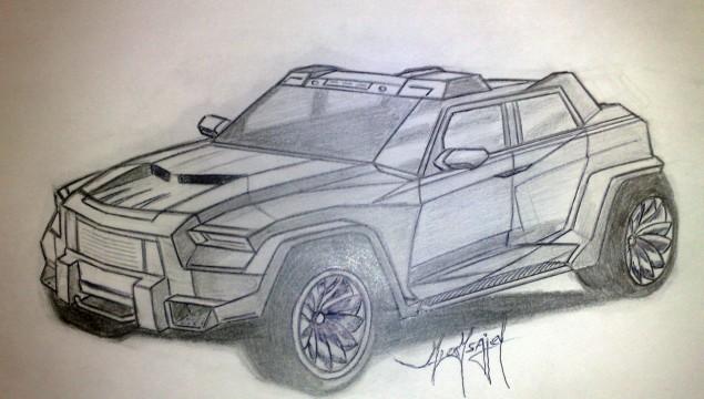 Dartz Nagel Dakar Armored Car