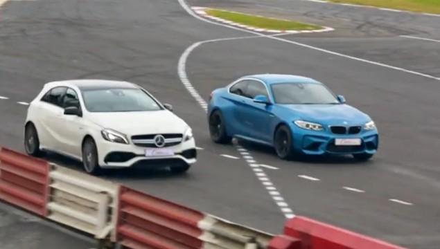 BMW M2 vs Mercedes A45 AMG