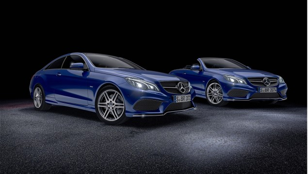Mercedes-Benz E-Class Coupé and Cabriolet Sport Edition