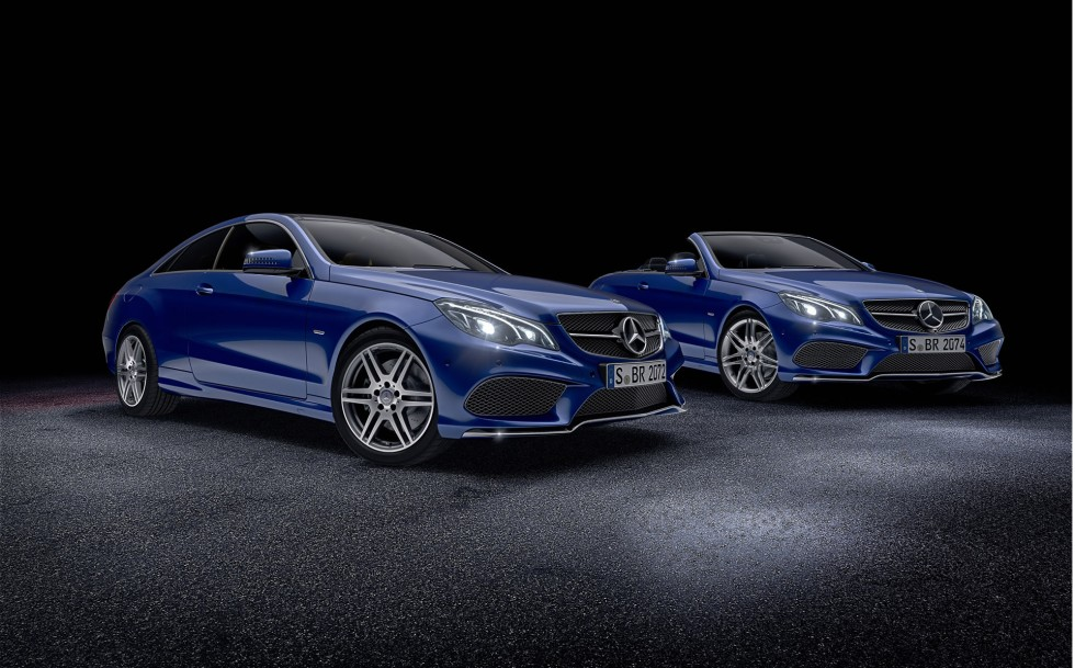 Mercedes e-class coupe pd850 black edition widebody.