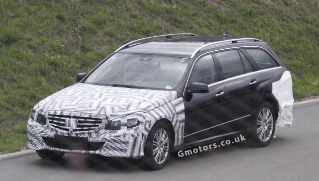 2013 Mercedes-Benz E-Class Estate Latest Spy Photos