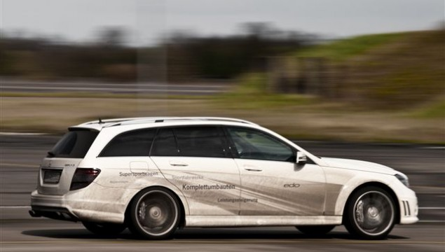 Mercedes C63 AMG T-Model by Edo Competition