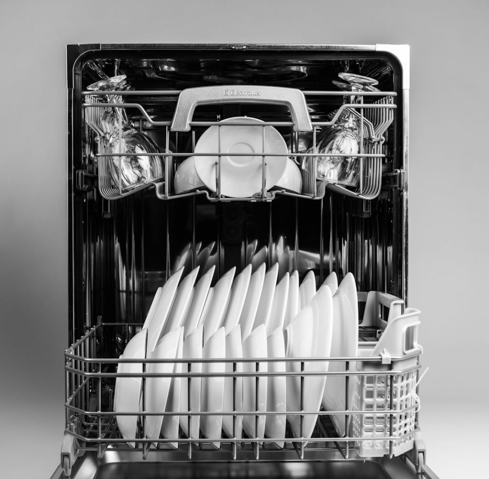 Electrolux Dishwasher interior