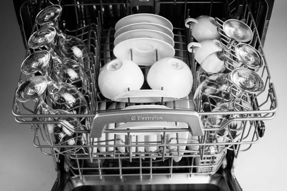 Electrolux Dishwasher interior top rack