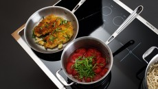 "Electrolux 36"" Induction Cooktop pans"