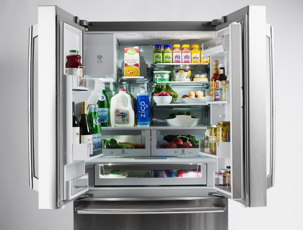 Electrolux Couner-Depth French Door Refrigerator with Wave Touch Controls