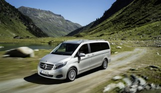 The new V-Class with permanent all-wheel drive
