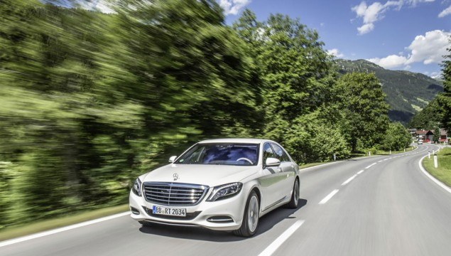 A Mercedes S-Class For the Eco Minded