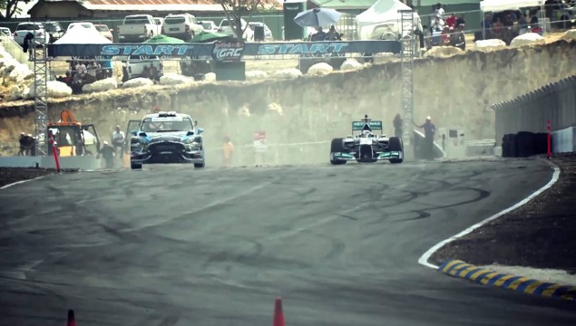 Formula One Vs. Rallycross – VIDEO