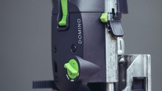 Festool Domino fence and mortise width adjustment