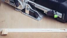 Festool Domino plywood tenons