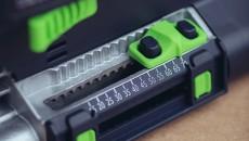 Festool Domino XL mortise depth adjustment