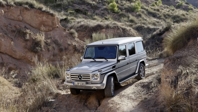 Mercedes Geländewagen Makeover Coming in 2016