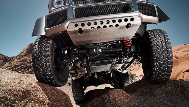 The Super-Offroader G 63 AMG 6x6