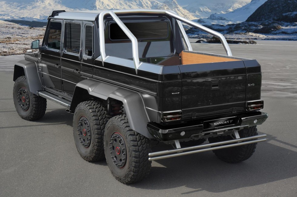 Mercedes-Benz G63 AMG 6x6 upgraded by Mansory