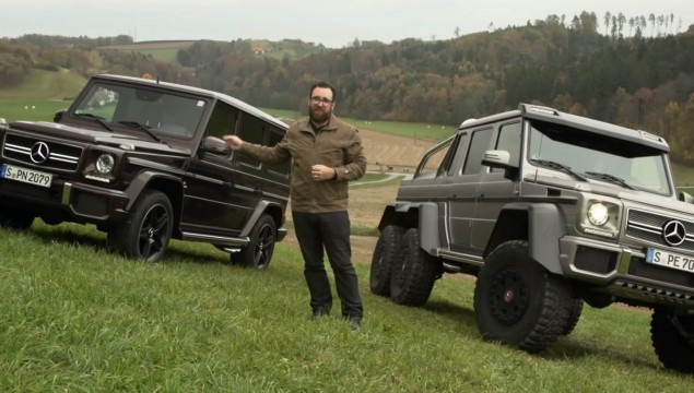 Mercedes G63 AMG and 6×6 Go Head to Head – Video