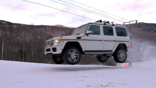 First Tracks Guaranteed in a G63 AMG – Video