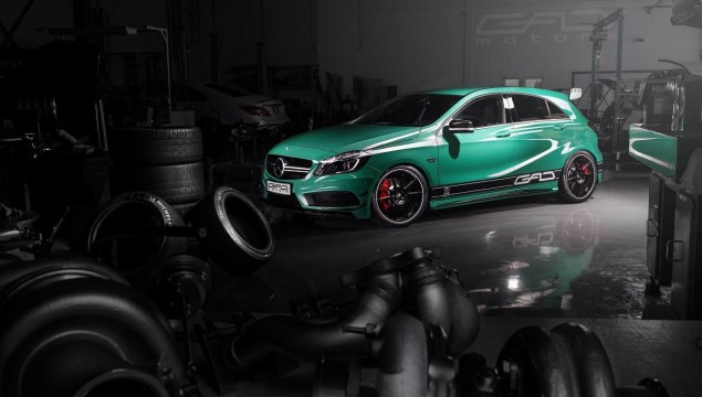 Mercedes A45 AMG by GAD Makes You Green with Envy