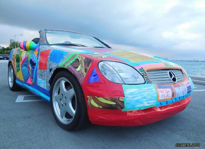 Laurence Gartel Mercedes-Benz SLK320