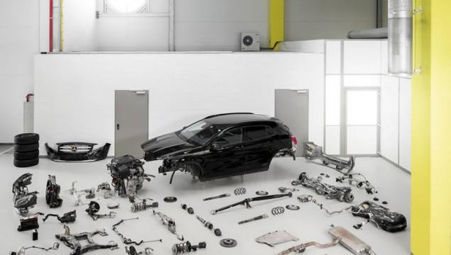 Mercedes-Benz GLA Testing